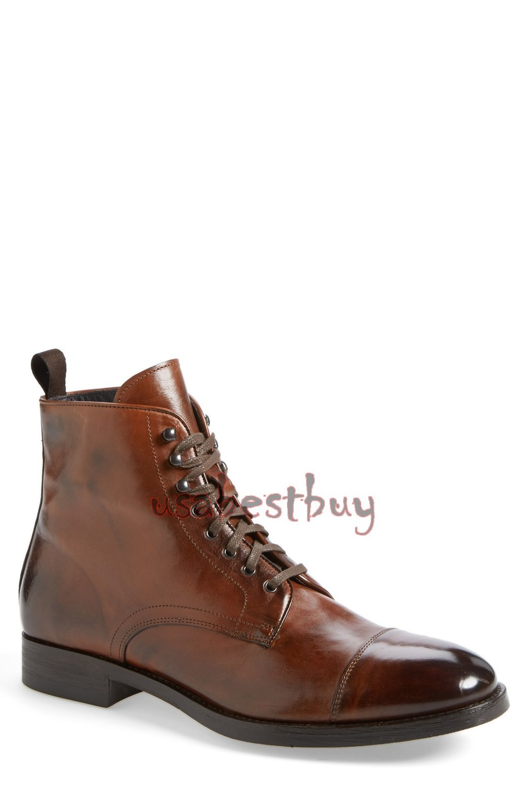 New Handmade Chukka Latest Style Real Leather Boots, Men Brown leather boots