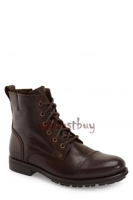 New Handmade Latest Style Real Leather Ankle Boots, Men Stylish leather boots