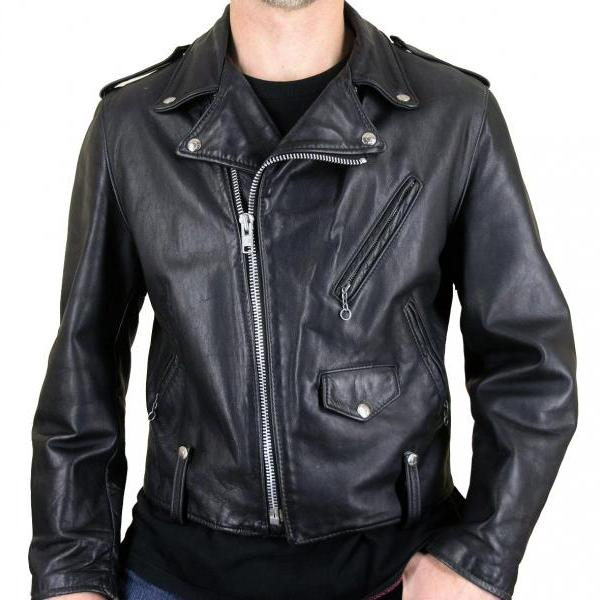 Handmade Custom New Men Rider Unique Brando Style Leather Jacket, men leather jacket, Leather jacket for men, Biker Leather Jacket, Motorcycle Jacket